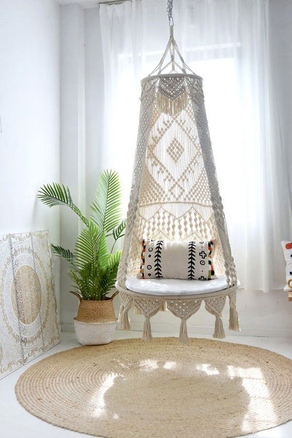 Hanging-Chairs-boho-bedroom