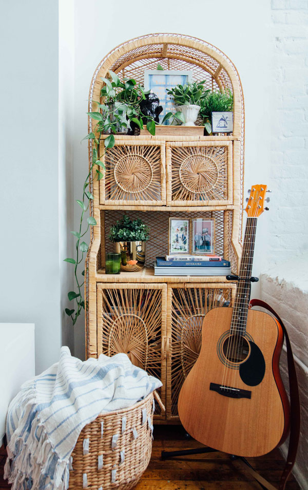 Rattan-Furniture-boho-bedroom