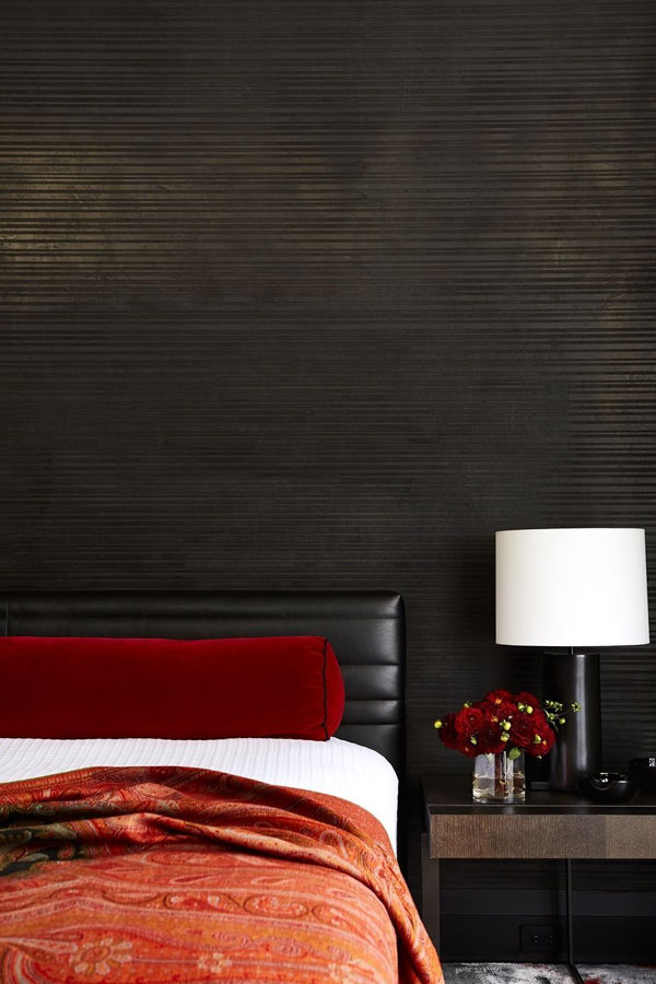 black-and-red-bedroom