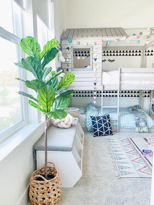 baby bedroom bunk-bed