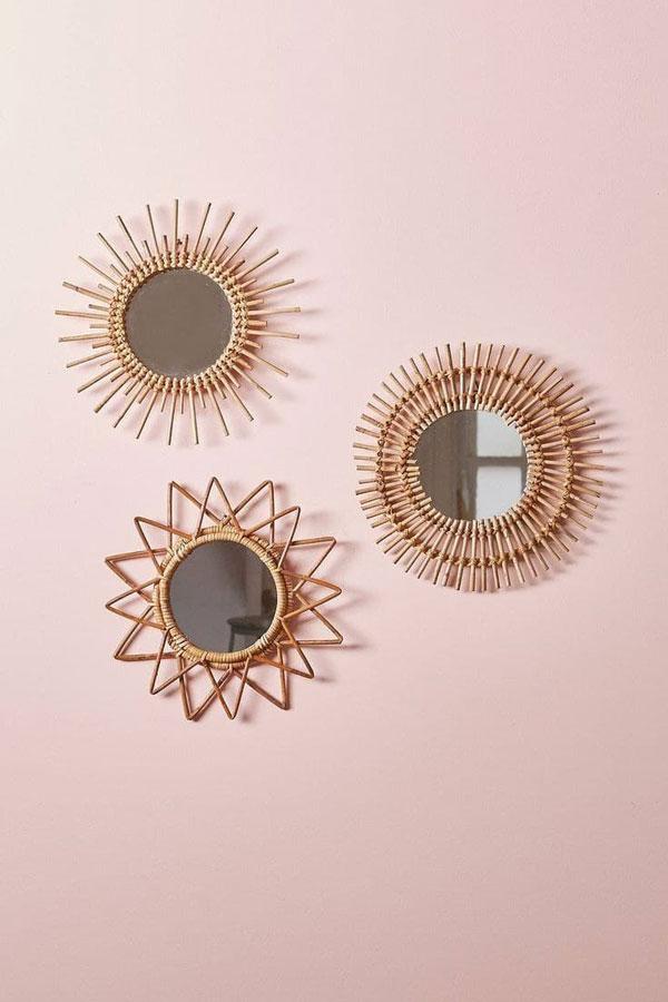 handmade mirror on the wall