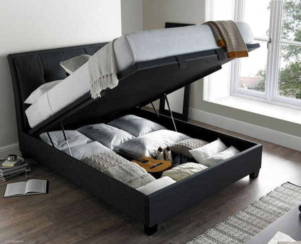 a bedroom pallet-bed-as-a-hiding-place