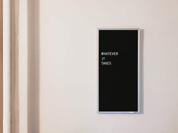 DIY room decor phrase art