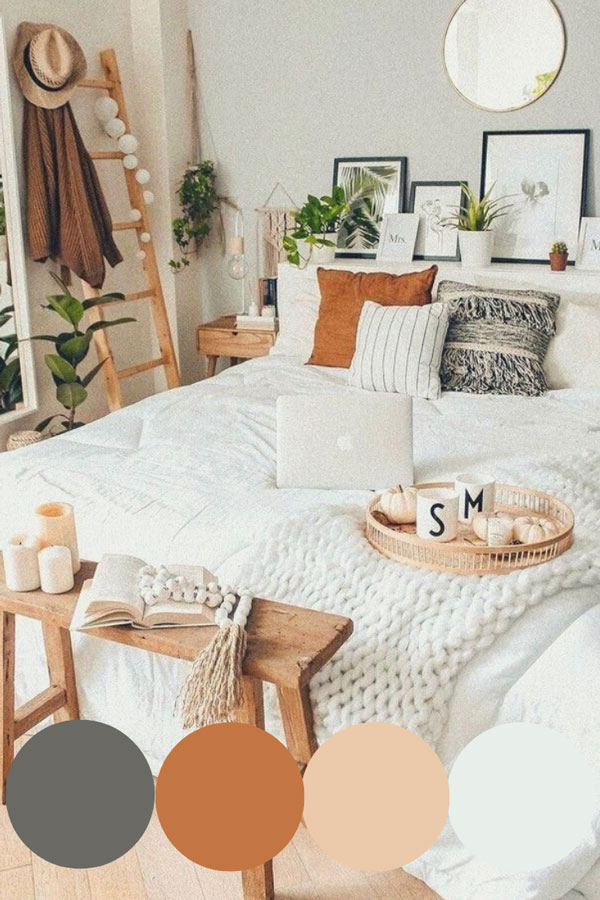 warm-color-boho-bedroom