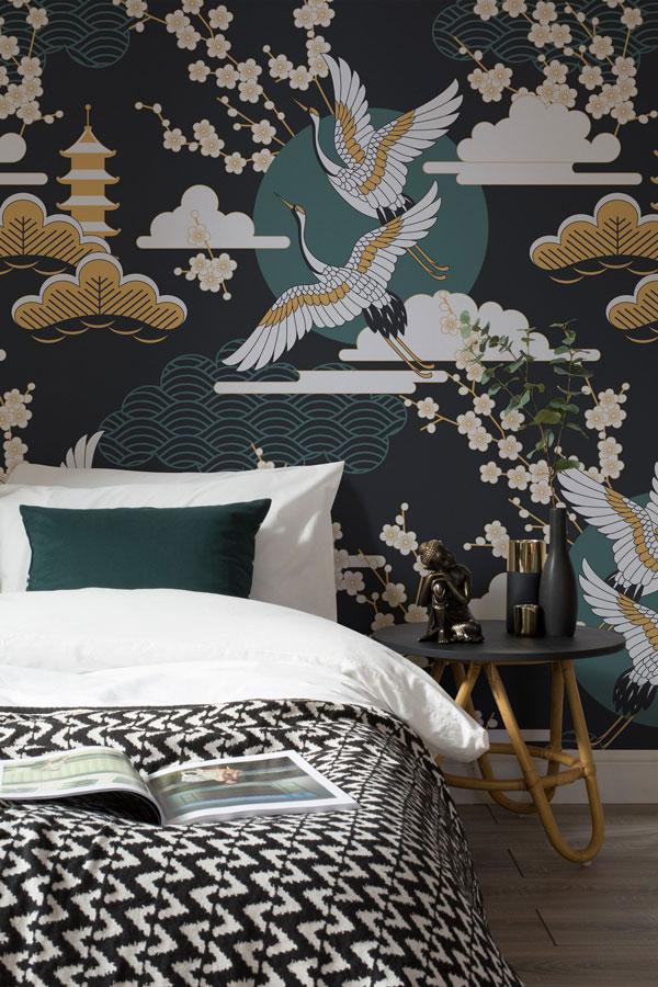 Dark-wallpaper-for-the-bedrooms