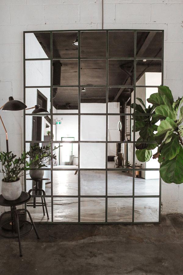 Making-a-bedroom-wall-mirror-full-length