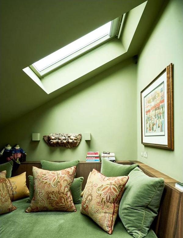 Pistachio-green-wall-bedroom