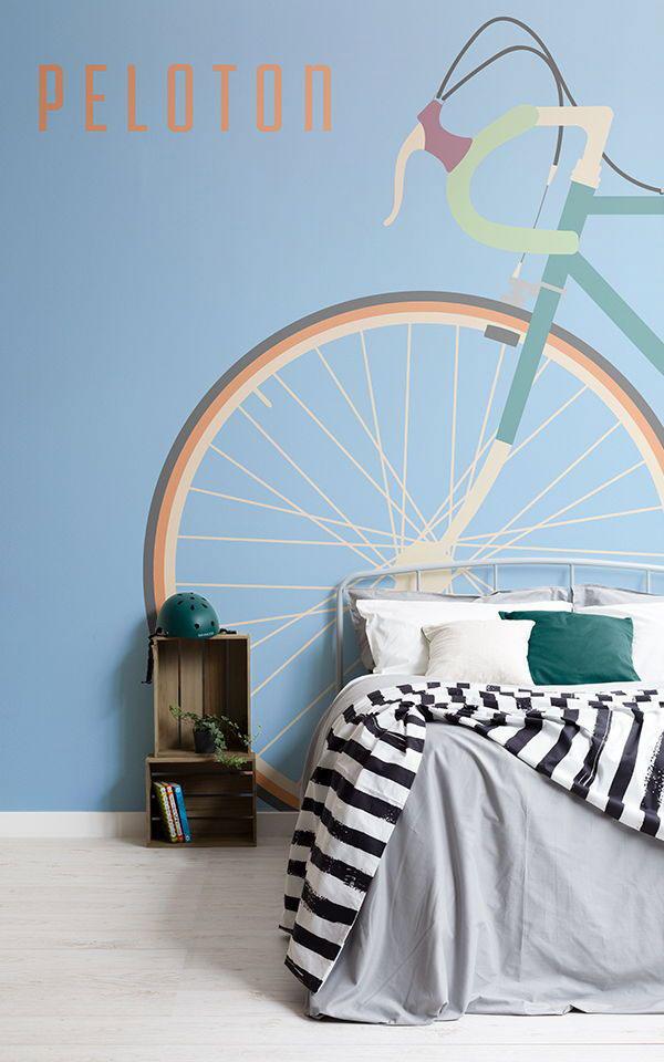 Sporty-diy-wallpaper-ideas-for-bedrooms