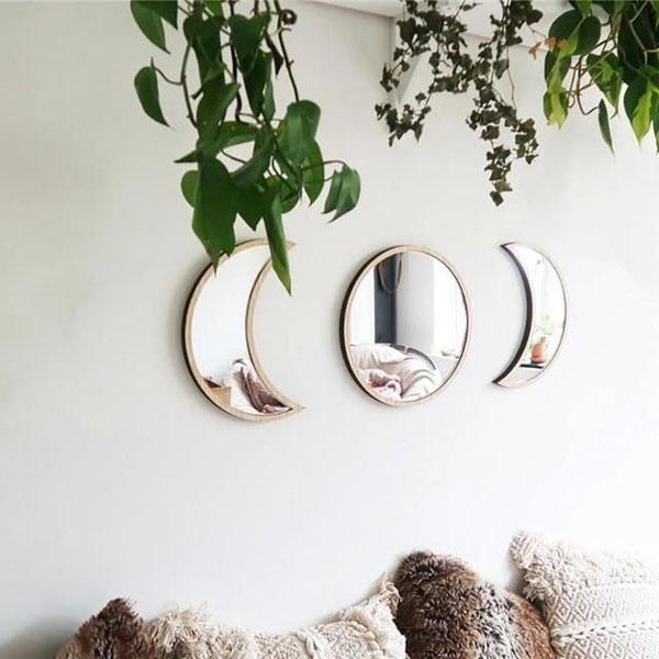 Three-piece-decorative-Bedroom-wall-mirror