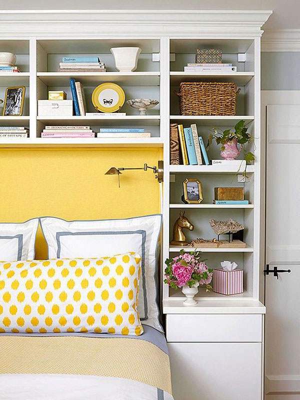 Use-wall-shelves-in-a-Small-bedroom-decorating-ideas-on-a-budget