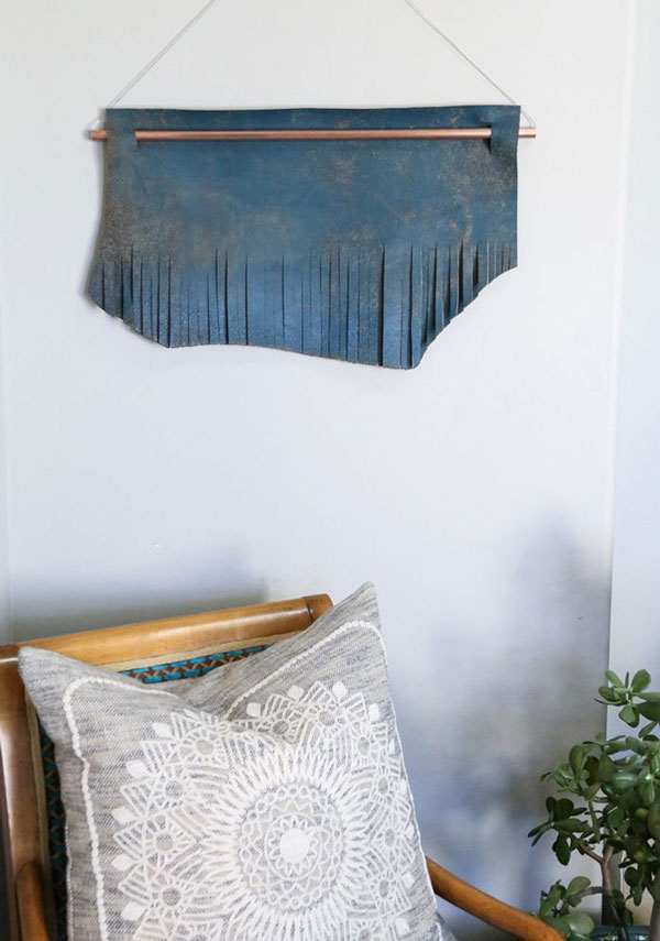 Yarn-Wall-Hanging-with-leather