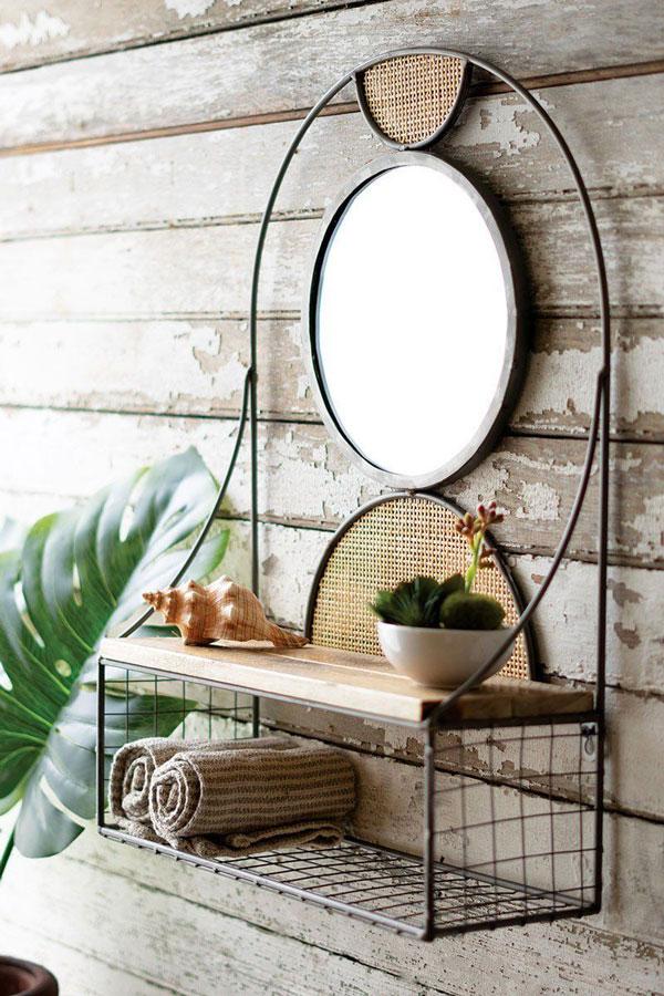 bedroom-wall-mirror-with-shelf
