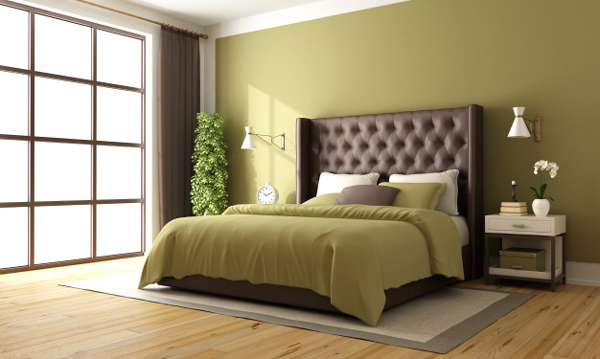 begreen color for bedroom wallsdroom-with-green-wall