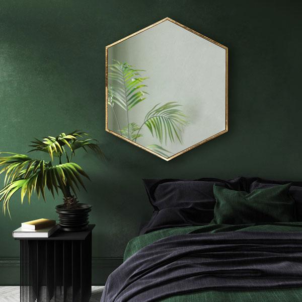 dark-green-accent-wall