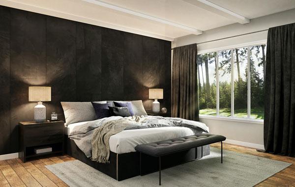dark bedroom wallpaper