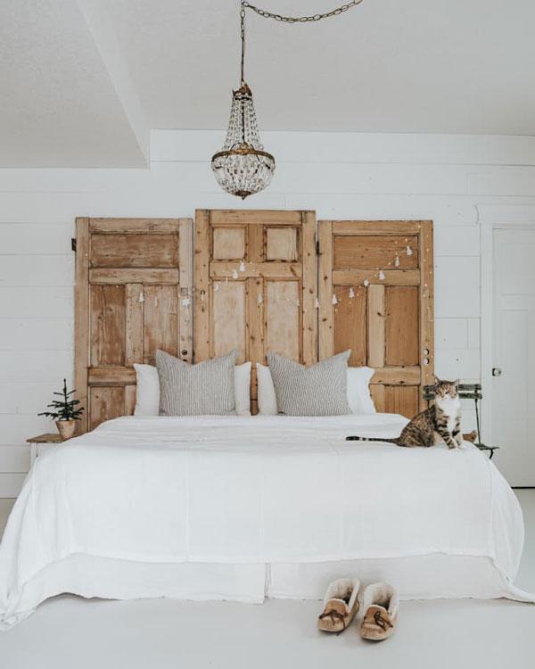 diy-door-headboards-for-bed