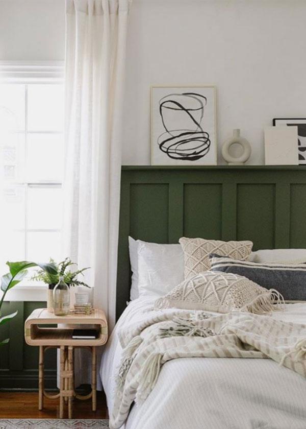 green-headboard