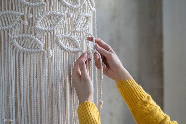 knotting-Macramé