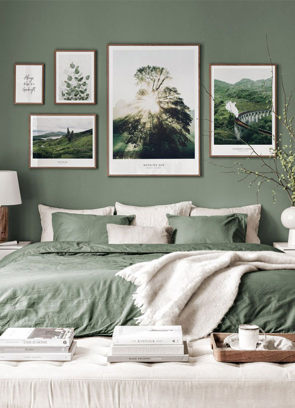 pale-green-accent-wall