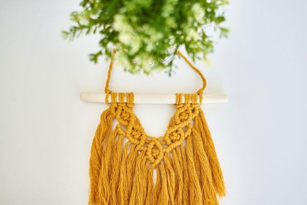 yellow-Macramé-wall-hangings