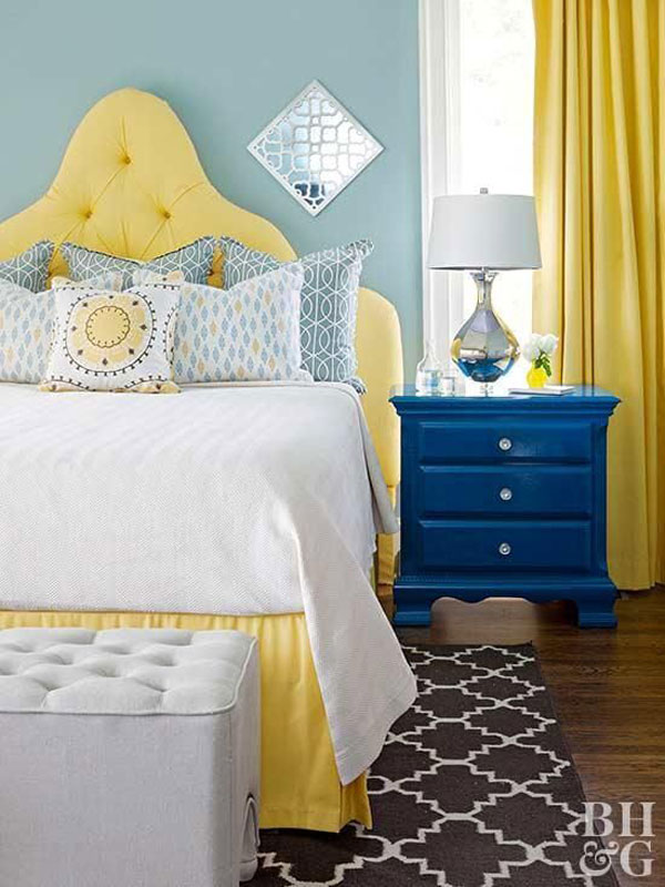 yellow-and-blue-bedroom