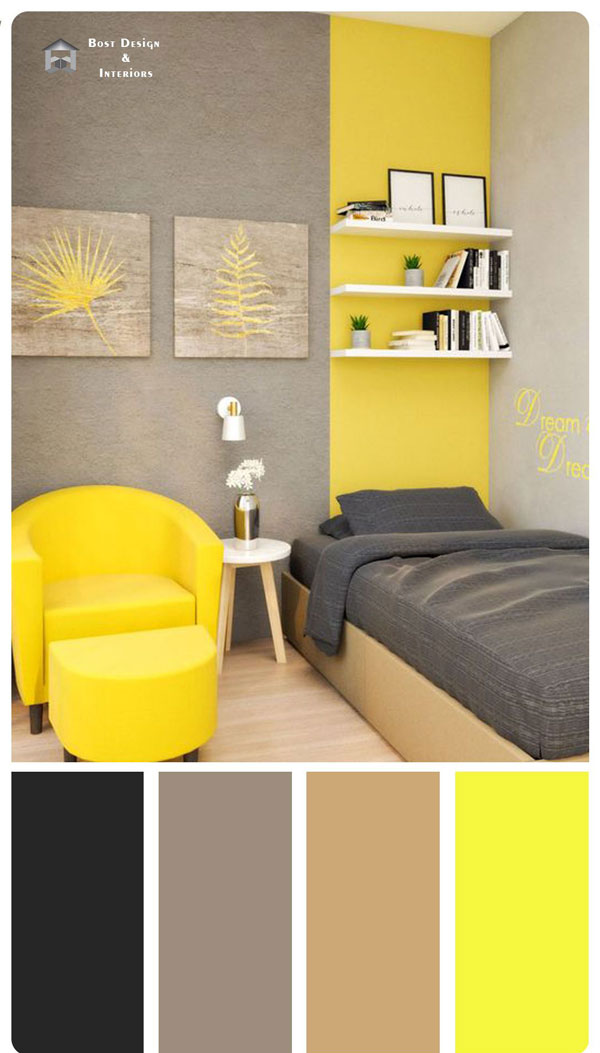 yellow-and-gray-combination