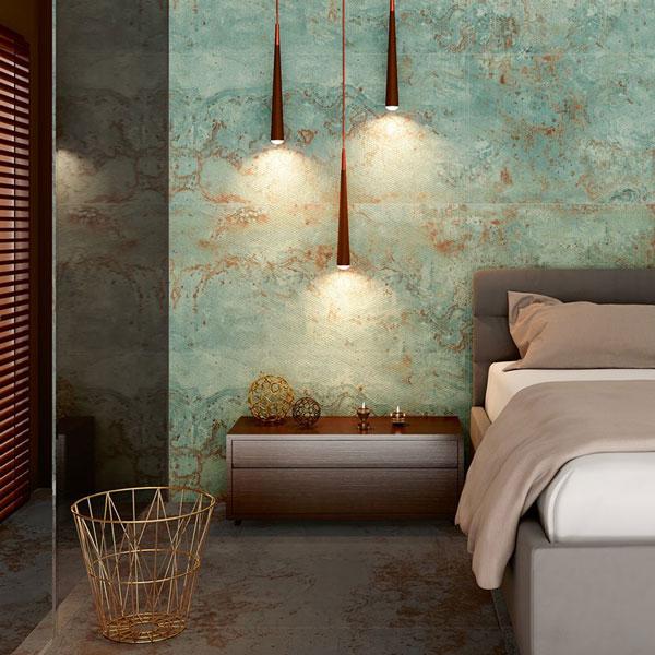 ceramics-wall-texture bedroom