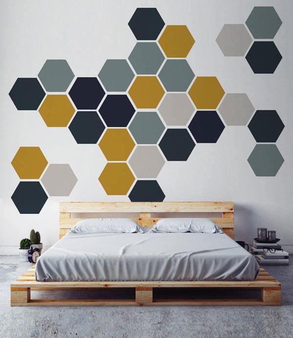wall-texture-paint bedroom