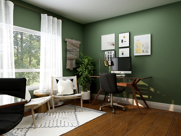 home-office-color-with-green