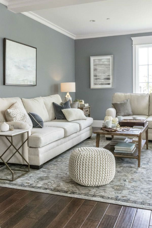 Blue-with-gray-living-room-color-scheme