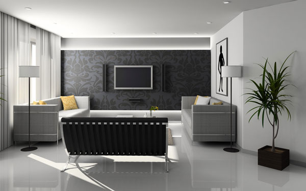 Gray-color-for-the-living-room