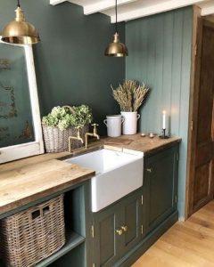 dark-green-kitchen