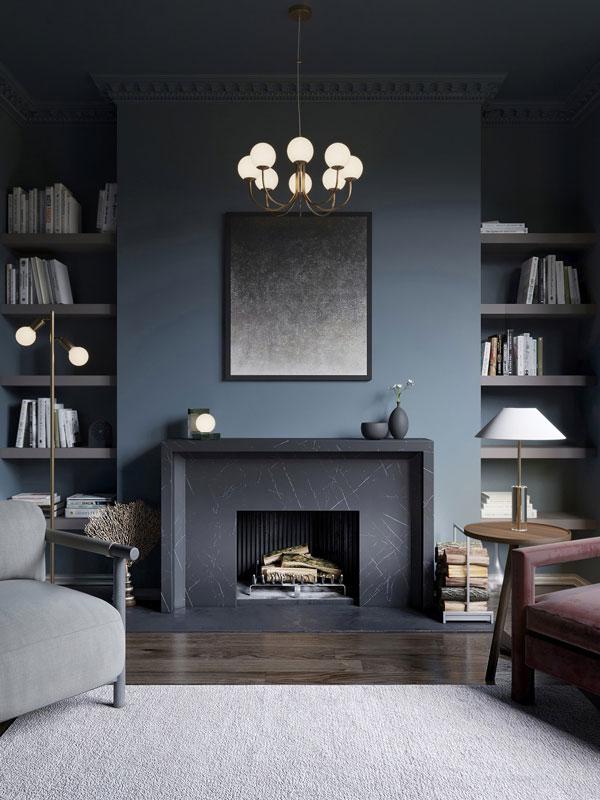 navy-blue-living-room