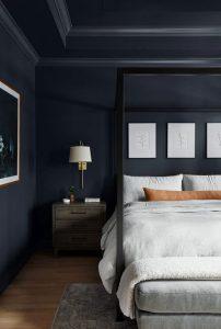 Dark-blue-bedroom