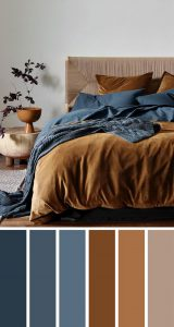 brown-and-blue-bedroom