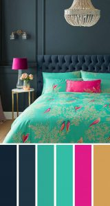combination-of-blue-and-green-bedroom