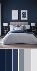 combination-of-gray-and-blue-bedroom